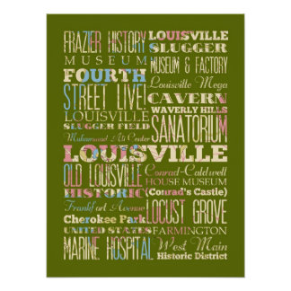 Attraction & Famous Places of Louisville, Quebec Poster