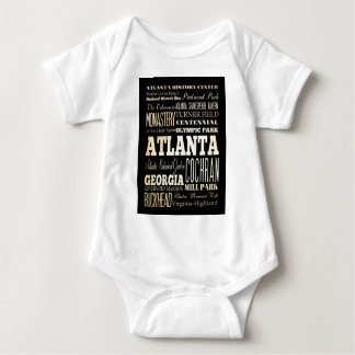Attractions and Famous Places of Atlanta,Georgia T-shirts