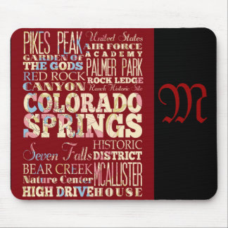 Attractions and Famous Places of Colorado Mouse Pad