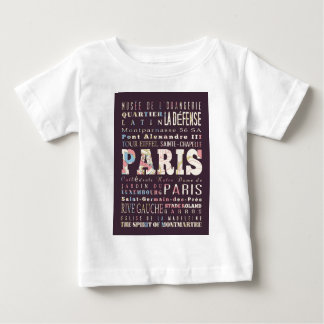 Attractions and Famous Places of Paris,France Tshirts
