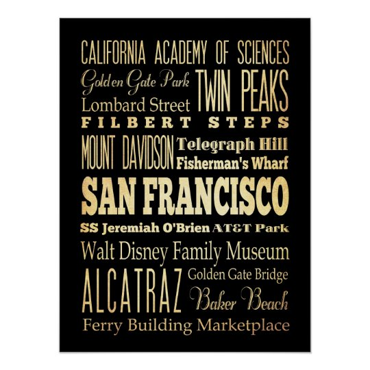 Attractions & Famous Places of San Francisco, CA