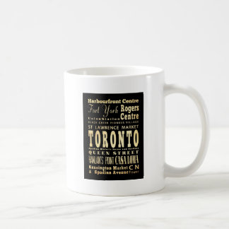 Attractions & Famous Places of Toronto, Canada Coffee Mug