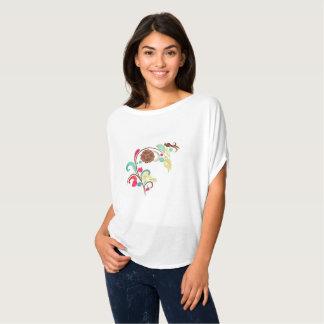 Attractive Floral Bella Canvas Woman Shirt