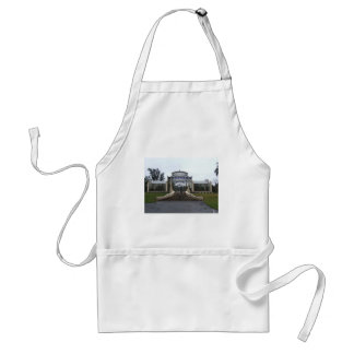 Attractive Green House In The Park Adult Apron