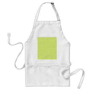 Attractive green palm trees on rough yellow surfac adult apron