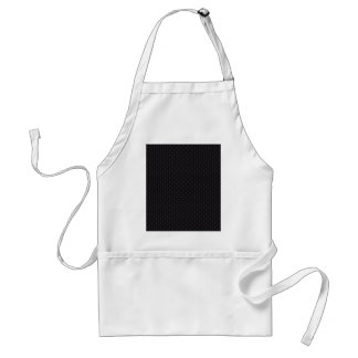 Attractive grey damask pattern on black surface aprons