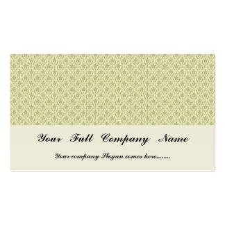 Attractive light grey flowers with two leafs on ro pack of standard business cards