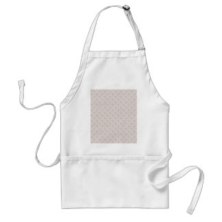 Attractive pink twinkling stars on rough light pin standard apron