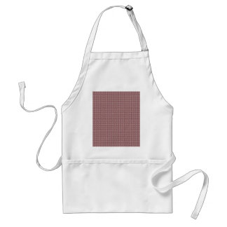 Attractive white flowers on purple background aprons