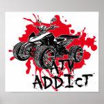 ATV addict Posters