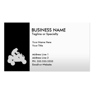 atv business card template