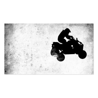 atv : dirt trail pack of standard business cards