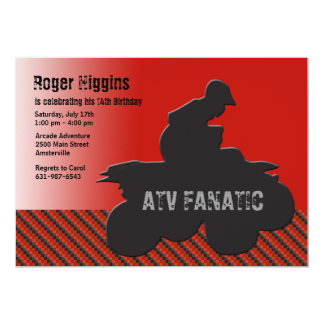 ATV Fan Invitation
