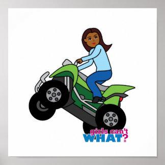ATV Girl Poster