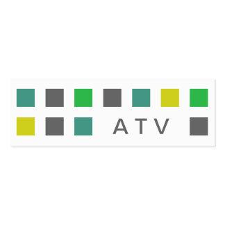 ATV (mod squares) Business Cards