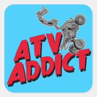 ATV motosport Square Sticker