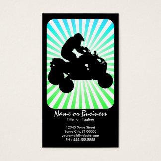 atv : retro rays : business card