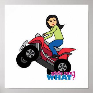 ATV Rider - Medium Poster