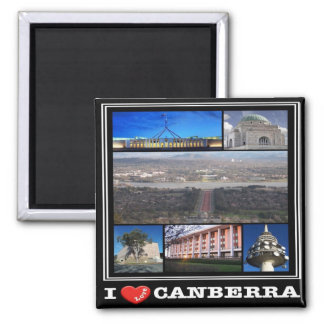 AU - Australia - Canberra - I Love Magnet