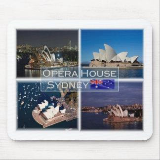 AU  Australia - Sydney - Opera House - Mouse Mat