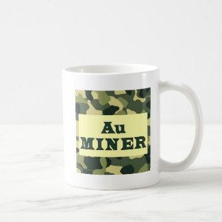 Au (gold) Miner Basic White Mug