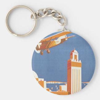 Au Maroc Par Avion Key Chain
