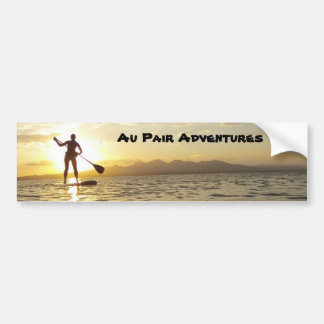 Au Pair Adventures Bumper Sticker, 2012 Bumper Sticker