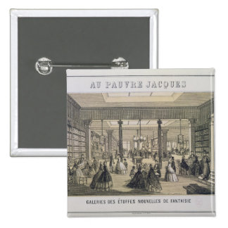 Au Pauvre Jacques: The Fabric Department 15 Cm Square Badge