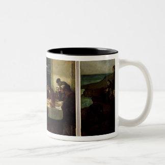 Au Pays de la Mer, 1898 Two-Tone Coffee Mug