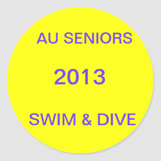 AU Seniors Sticker