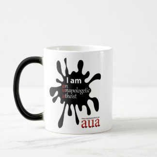 AUA heat reactive mug