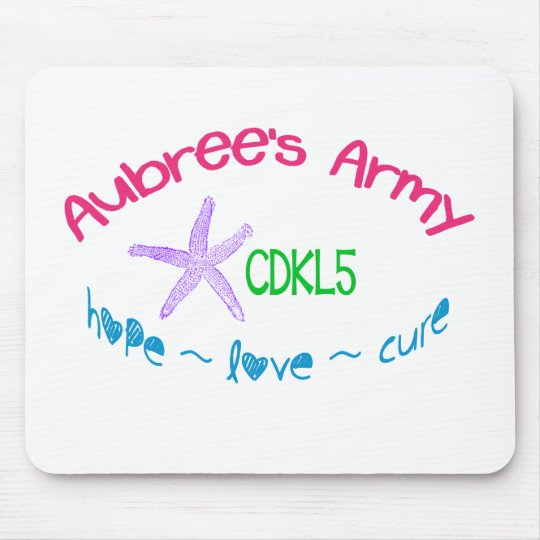 Aubree's Army CDKL5 Mouse Pad
