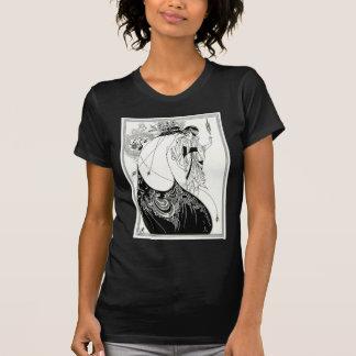Aubrey Beardsley Peacock Skirt T-Shirt