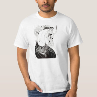 Aubrey Beardsley The Peacock Skirt T-shirt