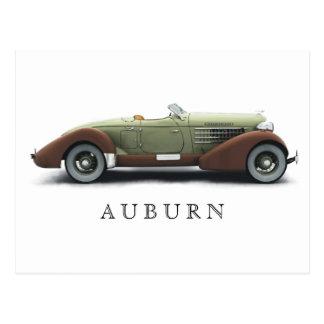 Auburn_851 Card Postcard