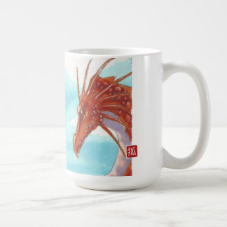 Auburn dragon mug