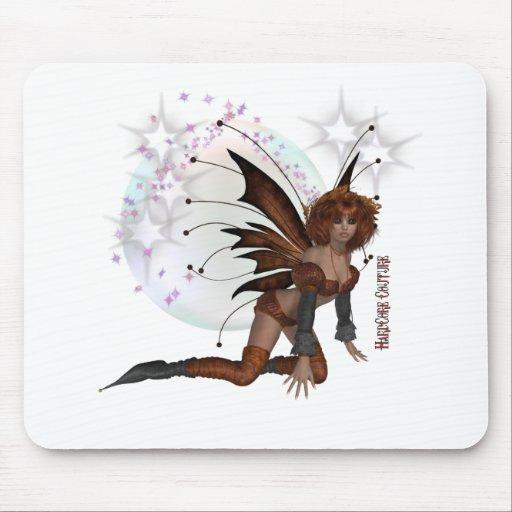 Auburn Fairy Mouse Pad