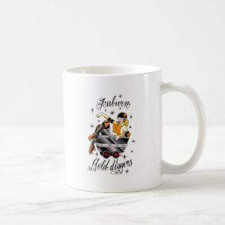 Auburn Gold Diggers Roller Derby Coffee Mug