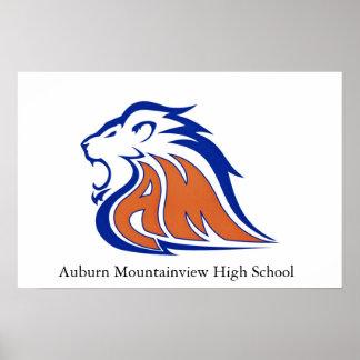 Auburn Mountain View High School Poster