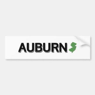 Auburn New Jersey Bumper Stickers
