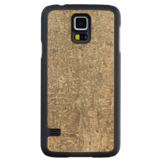 Auch Carved Maple Galaxy S5 Case