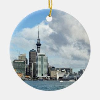 Auckland Cityscape Christmas Ornament