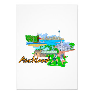 Auckland - New Zealand Custom Invites