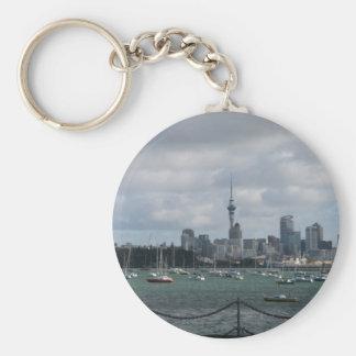 Auckland, New Zealand Key Ring
