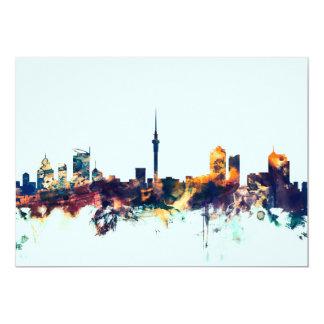Auckland New Zealand Skyline Card