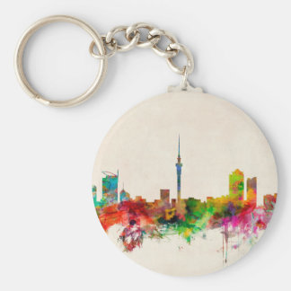 Auckland New Zealand Skyline Key Chain