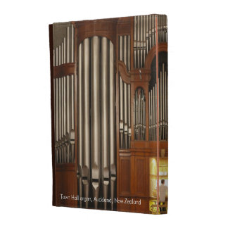 Auckland organ iPad folio case (captioned)