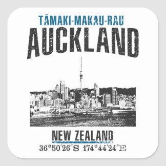 Auckland Square Sticker