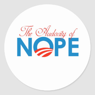 Audacity of Nope png Sticker