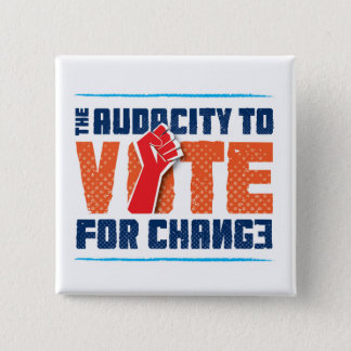 Audacity to Vote for Change Button
